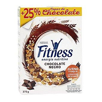 Fitness Nestlé Cereales integrales con copos de chocolate negro Paquete 375 g