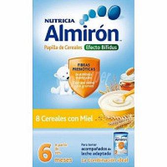 ALMIRON 8 Cereales con miel-bífidus Caja 600 g