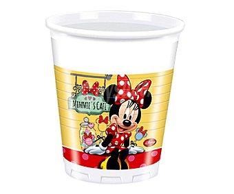 Disney Vasos desechables de plástico con diseño de Minnie Mouse, 20 centilitros de capacidad Pack de 8 unidades