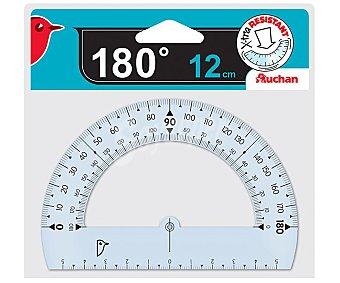 Auchan Transportador de angulos de 12 centímetros y hasta 180 grados auchan 12cm