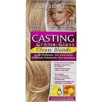 Casting Crème Gloss L'Oréal Paris tinte rubio claro arena nº  1013 caja 1 unidad