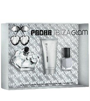 Pacha Ibiza Estuche de colonia spray 80 ml.+ body lotion 100 ml. + laca de uñas Glam 1 ud