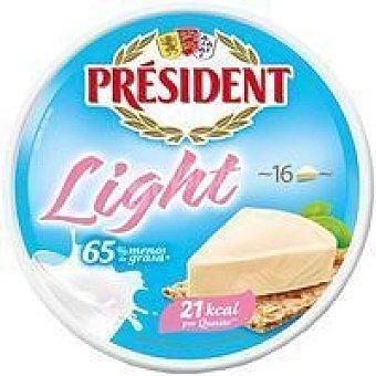 Président Queso en porciones light Caja 250 g