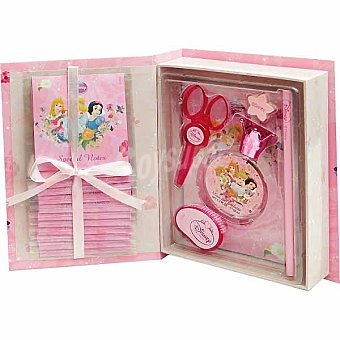DISNEY2 Estuche de colonia infantil Princess Book con eau de toilette spray 50 ml + accesorios de escritorio Spray 50 ml