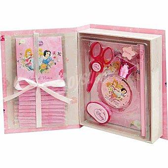 DISNEY2 Estuche de colonia infantil Princess Book con eau de toilette spray 50 ml + accesorios de escritorio Spray 50 ml