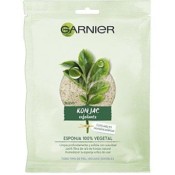 Garnier Bio esponja vegetal exfoliante konjac 1 ud
