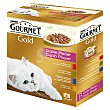 Comida completa para gatos doble placer Pack 8 latas x 85 g Purina Gourmet