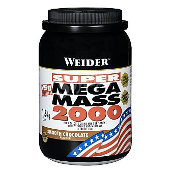 Weider Super Mega Mass 2000 chocolate 1,5 kg