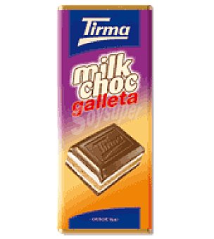 Tirma Chocolate milkchoc galleta 150 g