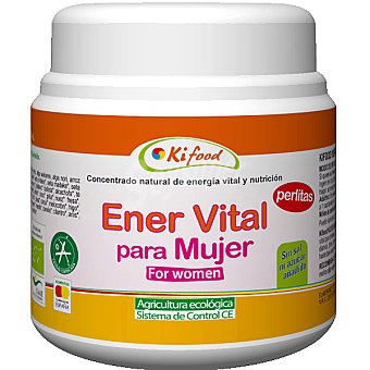 Kifood Concentrado natural Ener Vital para mujer en perlas Envase 350 g