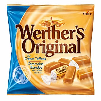 Werther's Original Caramelos blanos de toffee con nata Bolsa 115 g