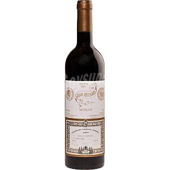 GRAN RECOSIND Vino tinto reserva merlot D.O. Empordá Botella 75 cl