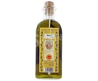Nuñez Prado Aceite de oliva virgen extra ecológico D.O. Baena Botella 50 cl