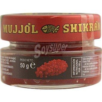 SHIKRÁN Sucedáneo de caviar a base de arenque ahumado y huevas de mújol tarro 50 g