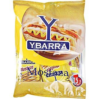 Ybarra Mostaza bolsa 15x6 Envase 90 g