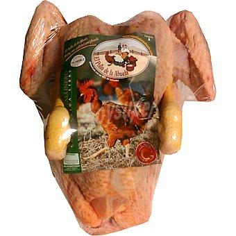 El pollo de la abuela Pollo limpio de corral envase 3 kg peso aproximado Envase 3 kg