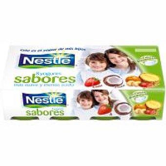 Nestlé Yogur de fresa-macedonia-coco Pack 8x125 g