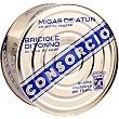 Migas de atún claro en aceite vegetal Lata 695 g neto escurrido Consorcio