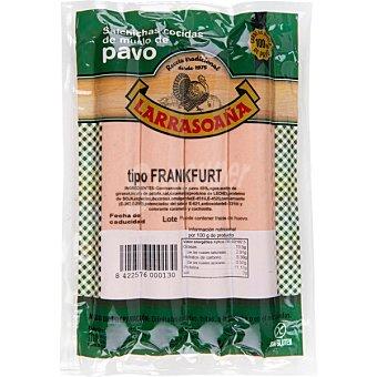 Larrasoaña Salchichas frankfurt de pavo sin gluten envase 300 g