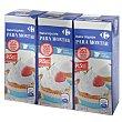 Nata liquida para montar Pack de 3 unidades de 200 ml Carrefour