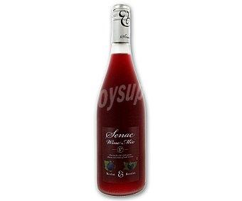 SENAC Vino Tinto Mix Merlot con frutas del bosque Botella de 75 cl