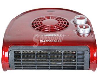 ORBEGOZO FH 5024 Termoventilador horizontal, 2500W, potencia max: 2500w, 2 niveles de calor, función ventilación, termostato