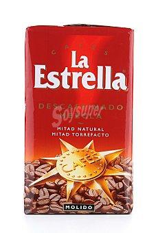La Estrella Café Molido Descafeinado Mezcla Paquete 250 g