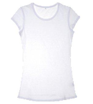 Camiseta mangas cortas no name lisa jersey