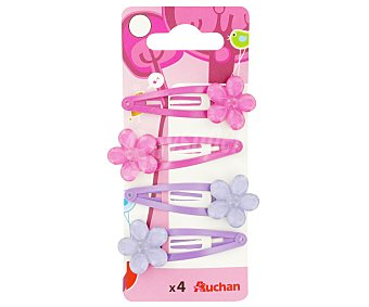 Auchan Horquillas de clip 4 unidades