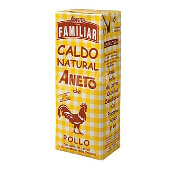 Aneto Caldo natural de pollo familiar 1,5 l