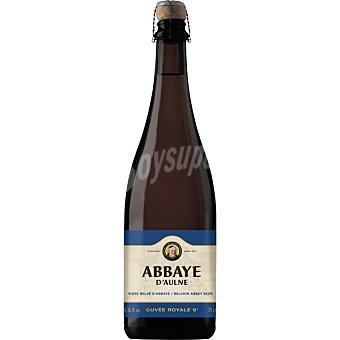 ABBAYE D'AULNE Cuveé Royale cerveza tostada belga de Abadía  botella 75 cl
