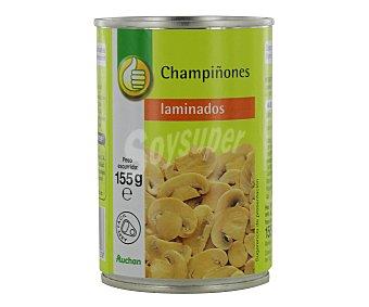 Productos Económicos Alcampo Champiñones laminados Bote de 155 gramos