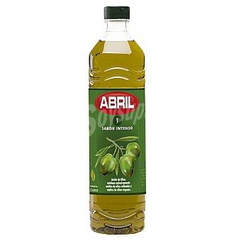Aceites Abril Aceite de oliva 1º sabor intenso Botella 1 l