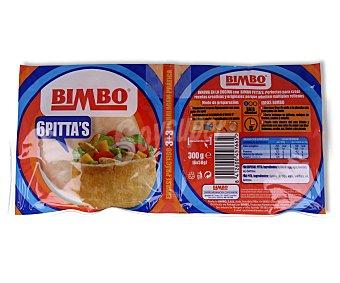 Bimbo pan de pita pack 2 envases 3 unidades Pack 2 envases 3 unidades