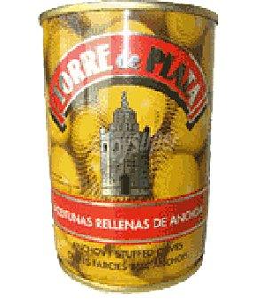 Torre de Plata Aceitunas rellena de anchoa 120 g