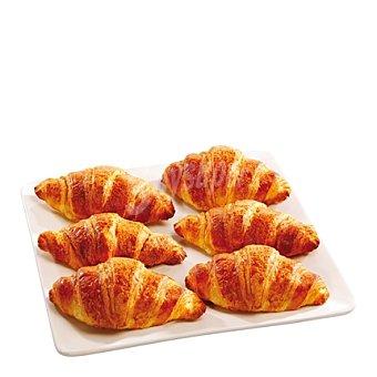 Croissant de mantequilla Pack de 6 u