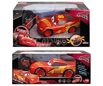 Cars Disney Coche radiocontrol Rayo MacQueen clásico o brillante, Cars 3, DISNEY.