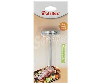 Metaltex Termómetro de 12 centímetro de largo especial para asados 1 unidad