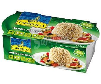 Carretilla Arroz integral Paquete de 125 grs pack de 2