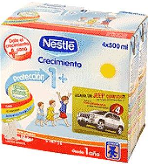 Nestlé Leche Junior Crecimiento Pack de 4x500 ml