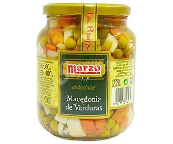 Marzo Macedonia de verduras Escurrido 400 gramos