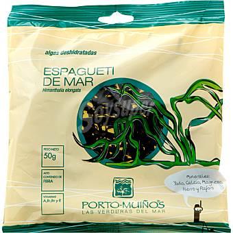 Porto Muiños Algas deshidratadas espaguetis de mar Bolsa 50 g