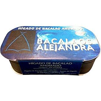 BACALAOS ALEJANDRA Paté de higado de bacalao ahumado tarrina 120 g Tarrina 120 g