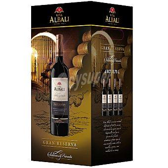 Viña Albali vino tinto Gran Reserva D.O. Valdepeñas caja  4 botella 75 cl