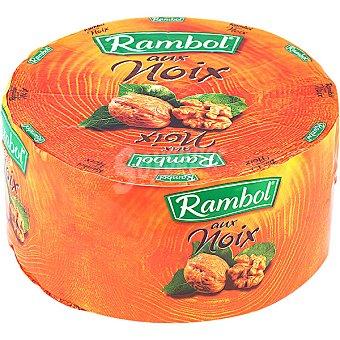 Rambol Queso con nueces  2 kg (peso aproximado pieza)