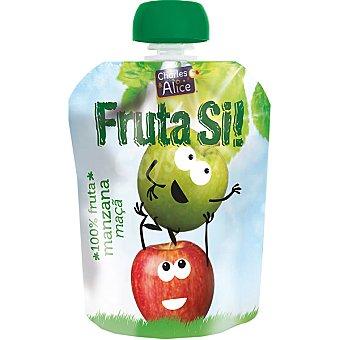 Charles & Alice Fruta si! manzana 100% fruta lista para beber envase 90 g