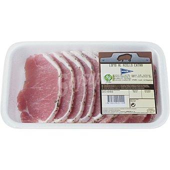 Hipercor Lomo al ajillo extra de cerdo en filetes peso aproximado Bandeja 500 g