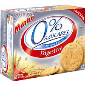 Marbu Artiach Digestive 0% azúcar Caja 650 g