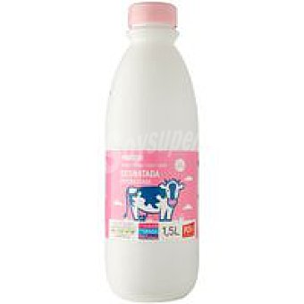 Eroski Leche Desnatada Botella 1,5 litros