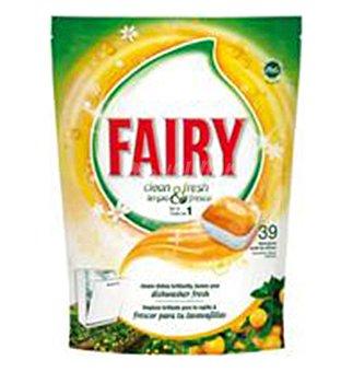 FRESH Lavavajilla fairy naranja 39 DOS
